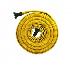 Manguera 4 capas contra incendios de 10 metros x 70 mm