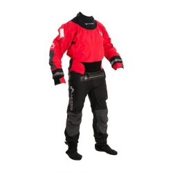 TRAJE SECO TYPHOON MULTISPORT 4 LATEX SEAL DRYSUIT + CON ZIP RED / BLACK 100140