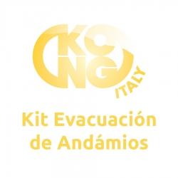 KIT EVACUACIÓN ANDAMIOS
