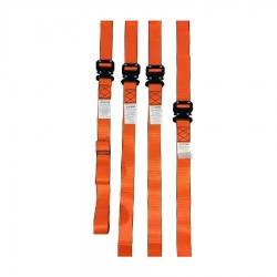 Set cinturones camilla rescate SSR