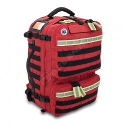 Backpack tactical-sanitary rescue, red