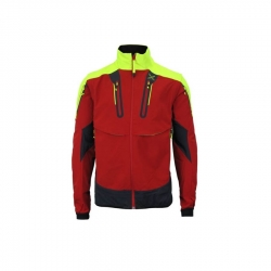 Jacket Frame WORKFRAME BRAVE Red / Yellow