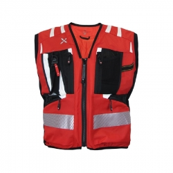 Vest WORKFRAME OPERATOR BASIC Red