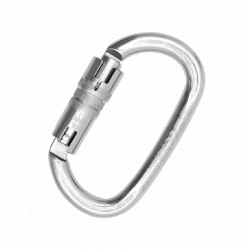 Carabiner OVALONE STAINLESS steel TWIST LOCK ANSI